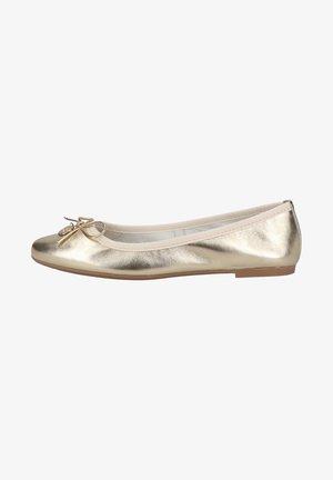 Ballet pumps - platinum