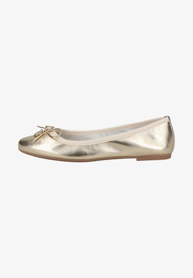 Ballet pumps - platinum