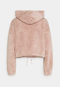 Nly by Nelly - HOODIE JACKET - Fleece jacket - mauve - 1