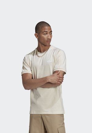 ADICOLOR 3-STRIPES NO-DYE T-SHIRT - T-shirt - bas - white