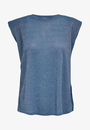 Print T-shirt - blue sapphire
