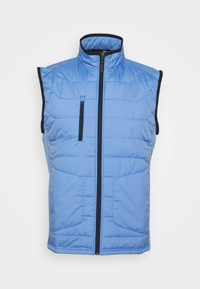 PACKDOWNVES  FILL VEST - Waistcoat - fall blue