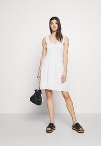 M Missoni - SLEEVES DRESS - Jumper dress - white - 1