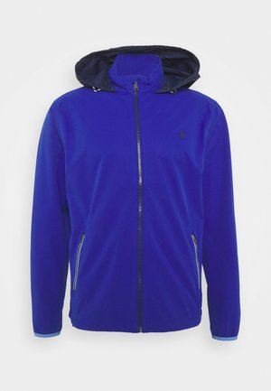 HOOD ANORAK JACKET - Waterproof jacket - royal blue