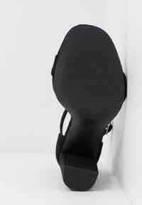 New Look Wide Fit - WIDE FIT VARONA - Sandały na obcasie - black - 6