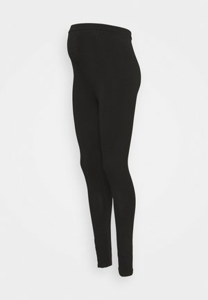 MLMIRA PINTUCK - Leggings - Trousers - black