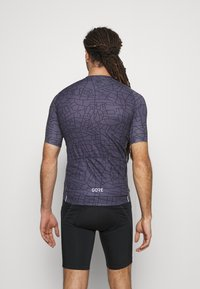 Gore Wear - GOTHAM MENS - T-Shirt print - graystone/black - 2