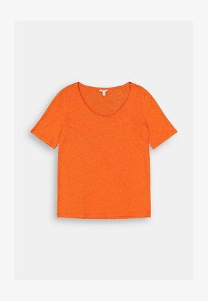 CURVY  - Basic T-shirt - orange red