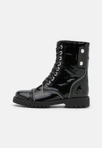 Zadig & Voltaire - JOE WRINKLE  - Lace-up ankle boots - noir - 1