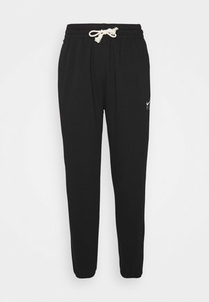 STANDARD ISSUE PANT - Pantalones deportivos - black/pale ivory