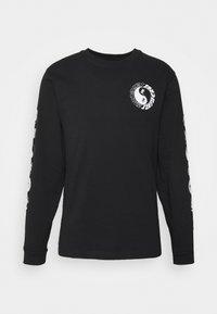 Santa Cruz - SCREAM YING YANG UNISEX - Camiseta de manga larga - black - 5