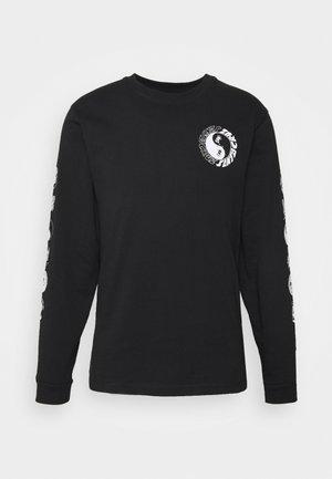 SCREAM YING YANG UNISEX - T-shirt à manches longues - black