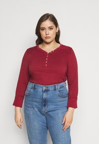 Ragwear Plus - PINCH - Long sleeved top - red - 0