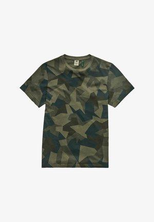 CAMO  - T-shirt print - asfalt gd swedish small camo