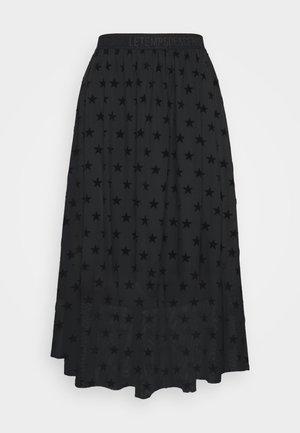 GANETT - A-line skirt - black