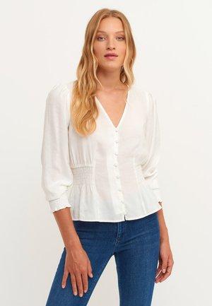 EDLEN  - Button-down blouse - ice milk