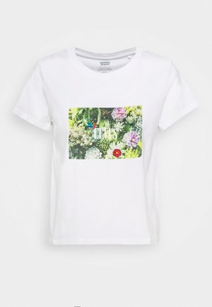 GRAPHIC SURF TEE - T-shirt med print - white