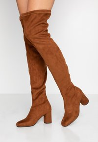 Anna Field - Over-the-knee boots - cognac - 1