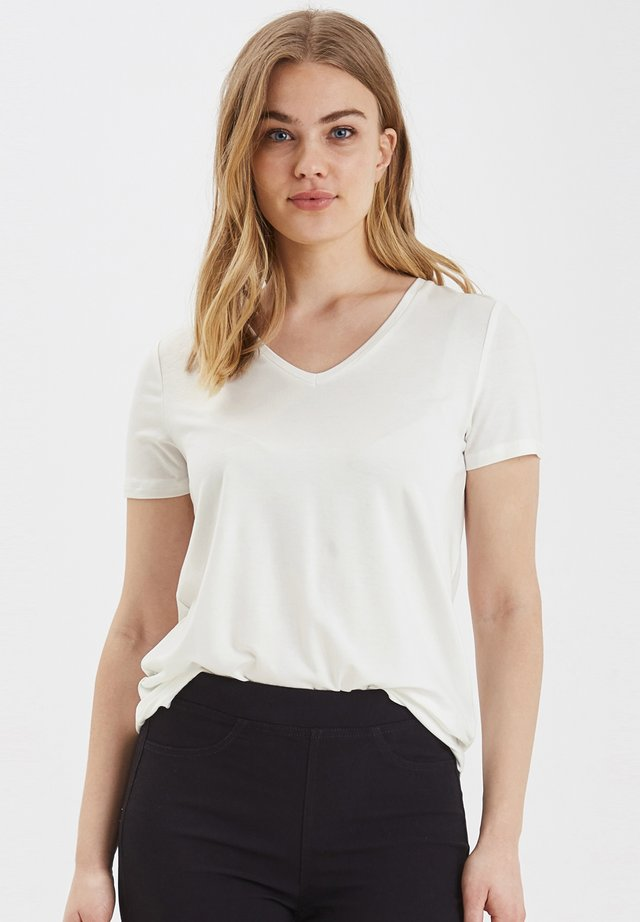 B.YOUNG BYREXIMA  - Camiseta básica - off white