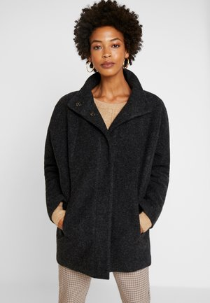 HOOVER - Classic coat - slate grey melange