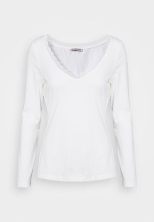 T-shirt à manches longues - off-white