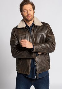 JP1880 - Leather jacket - braun - 0