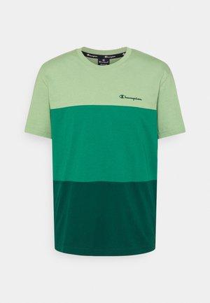CREWNECK - Jednoduché triko - green