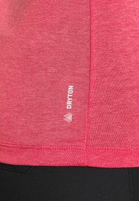 Salewa - SOLID TEE - Print T-shirt - virtual pink melange - 5