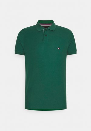 CONTRAST PLACKET SLIM  - Polo shirt - rural green
