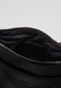 Emporio Armani - PIATTINA SMALL FLAT CROSSBODY BAG - Across body bag - black - 4