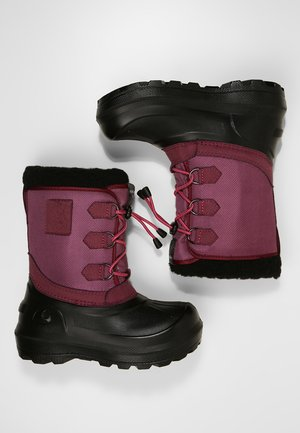 ISTIND - Snowboot/Winterstiefel - dark pink/black
