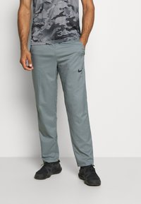 Nike Performance - DRY PANT TEAM  - Pantaloni sportivi - smoke grey/black - 0
