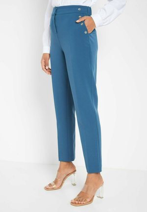 MIT NIETEN - Trousers - royal blue
