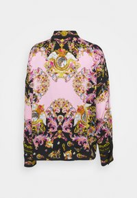 Versace Jeans Couture - LADY SHIRT - Button-down blouse - black/pink confetti - 8
