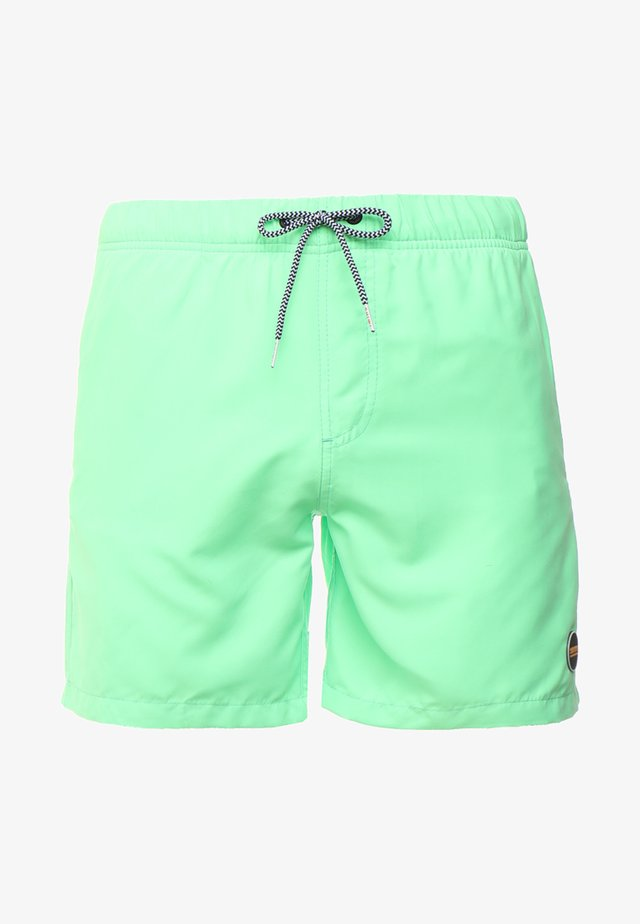 SWIM SOLID MIKE - Badeshorts - new neon green