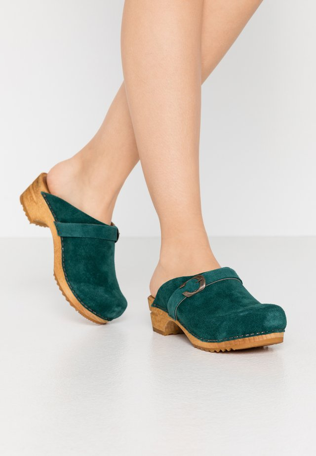 HEDI OPEN - Clogs - dark green