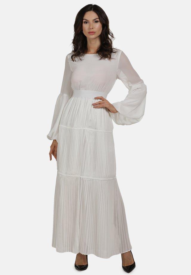 Długa sukienka - weiss