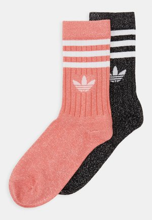 MID CUT FULL 2PACK - Chaussettes - black