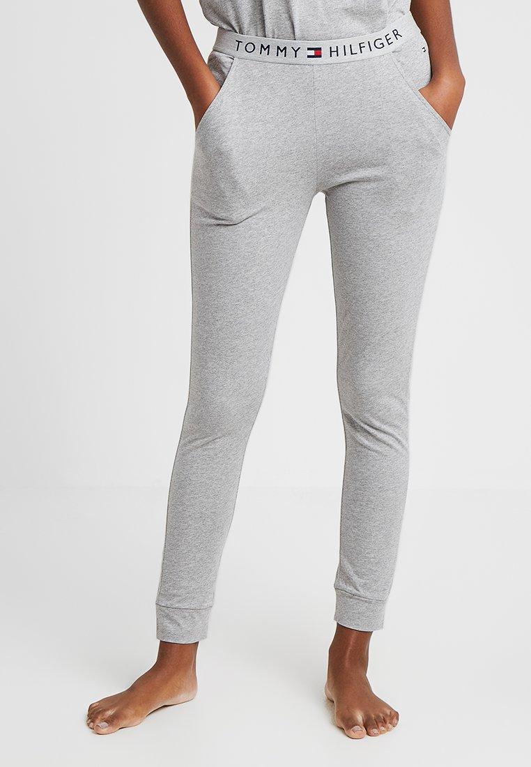 Tommy Hilfiger - ORIGINAL CUFFED PANT - Pyjama bottoms - grey heather