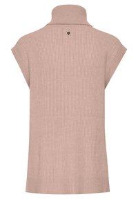 PULZ - Sweatshirt - mahogany rose melange - 5