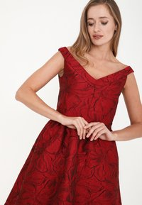 Madam-T - DANAY - Cocktail dress / Party dress - schwarz, rot - 4