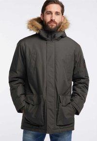 HAWKE&CO - Winter coat - dark green - 0