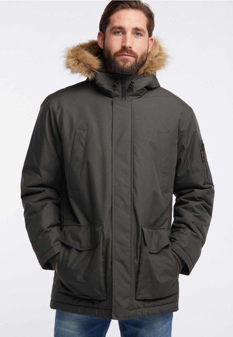 HAWKE&CO - Winter coat - dark green