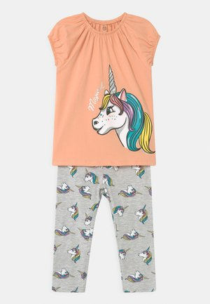 SMALL GIRLS SET  - Leggings - Trousers - prairie sunset