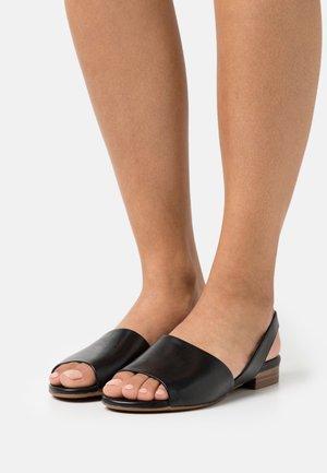 Sandaler - glove black