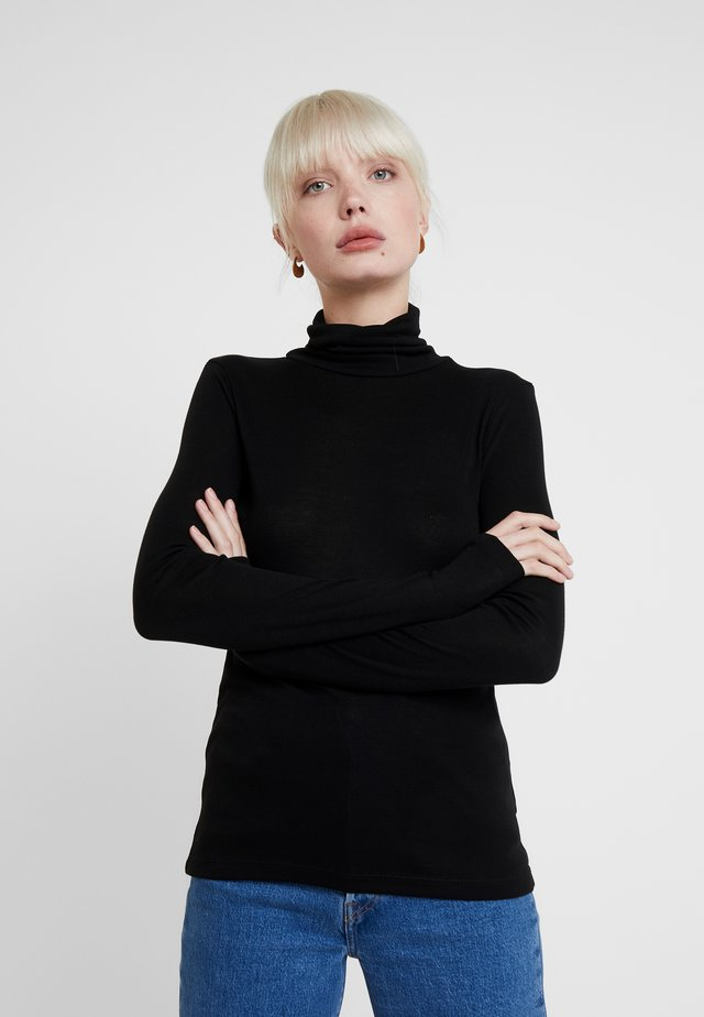 INA - Long sleeved top - black