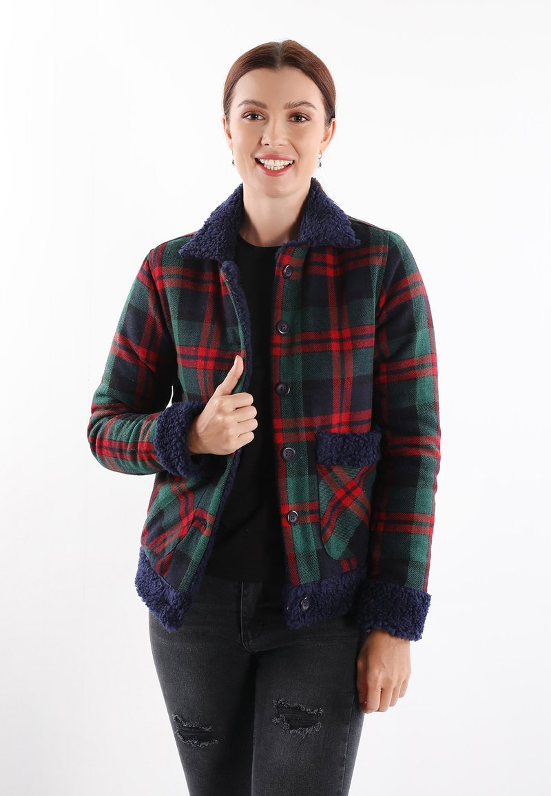 Felix Hardy - Light jacket - green-red
