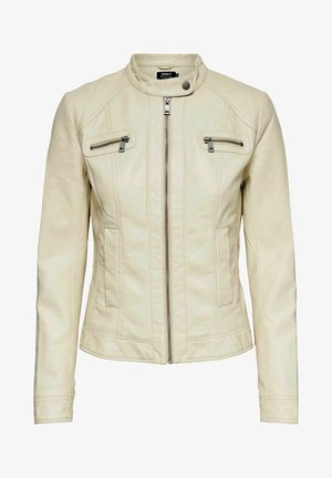 BANDIT - Faux leather jacket - pumice stone