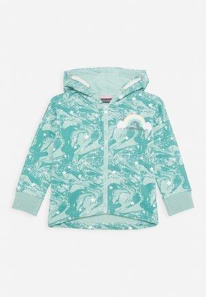 Zip-up hoodie - türkis