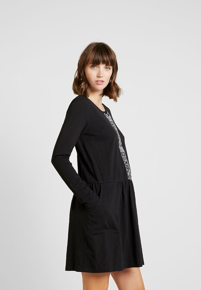 DESERT - Jersey dress - black
